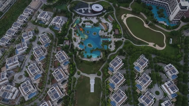 The view of Resort in Hainan, China