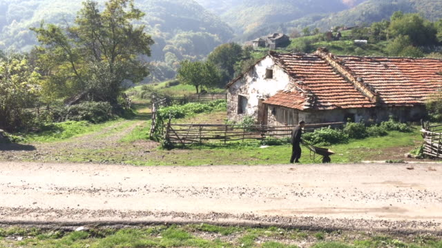 The village of Bezvodno, Rhodope Mountains, Bulgaria