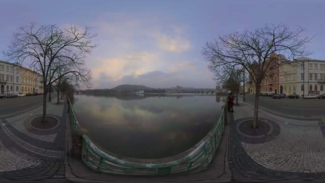 the vltava river prague - river vltava stock videos and b-roll footage