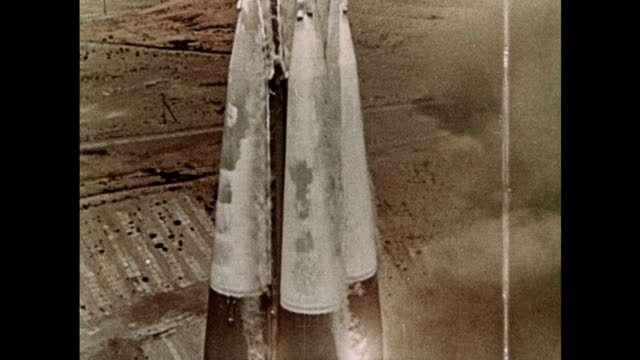 the voskok 1 becomes the first manned spaceflight - 1961 stock videos & royalty-free footage