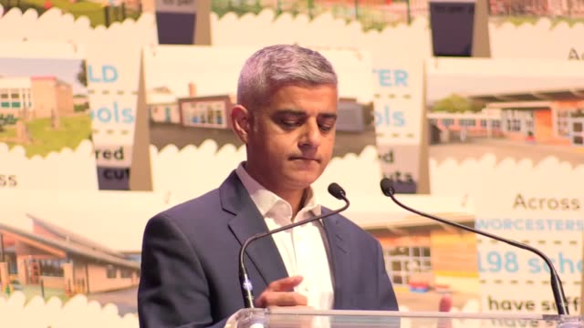 """the war of words between mayor of london sadiq khan and us president donald trump shows no sign of abating as khan calls trump a """"6ft 3 child in the... - donald trump us president stock videos and b-roll footage"""