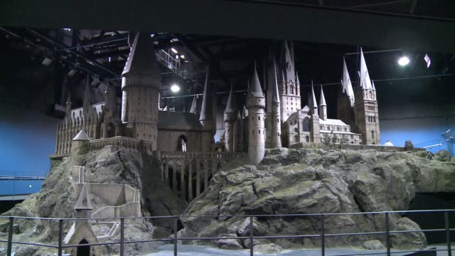 the warner bros studio tour opens to the public on saturday in the london suburb of watford clean harry potter studio tour to open on saturda on... - warner bros stock videos & royalty-free footage
