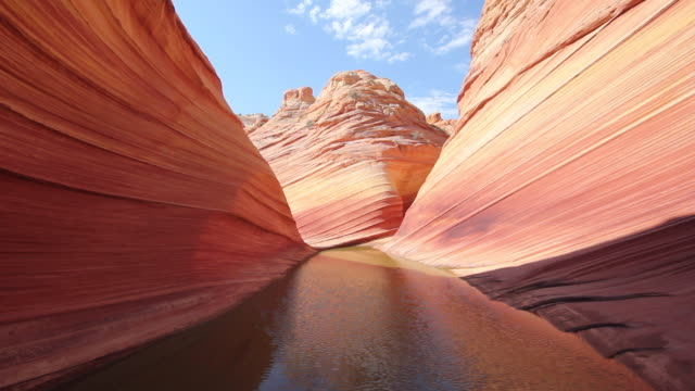 the wave, arizona, usa - geology stock videos & royalty-free footage
