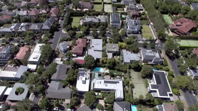 the wealthy suburb of toorak, melbourne australia. - david ewing stock videos & royalty-free footage