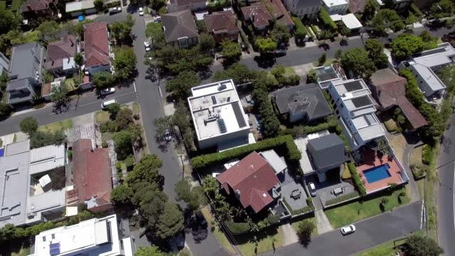 the wealthy suburb of toorak, melbourne australia. - tilt up stock videos & royalty-free footage