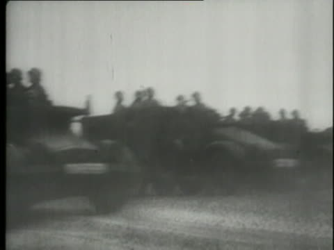 the wehrmacht invades poland. - wehrmacht stock videos & royalty-free footage