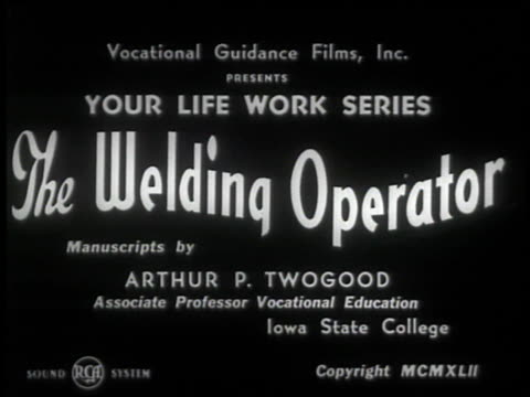 the welding operator - 1 of 10 - see other clips from this shoot 2484 stock videos & royalty-free footage