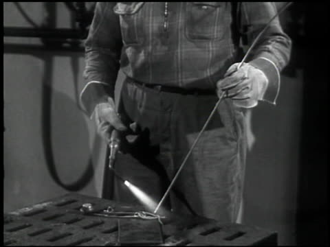 the welding operator - 3 of 10 - see other clips from this shoot 2484 stock videos & royalty-free footage