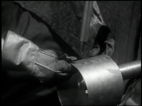 the welding operator - 6 of 10 - see other clips from this shoot 2484 stock videos & royalty-free footage