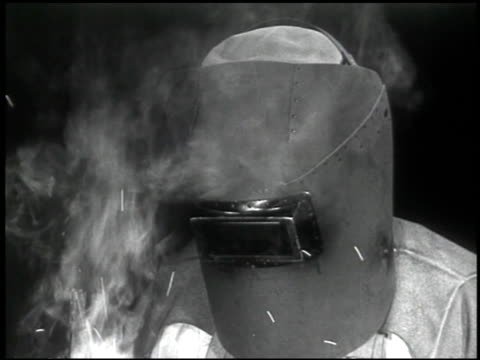 the welding operator - 7 of 10 - see other clips from this shoot 2484 stock videos & royalty-free footage