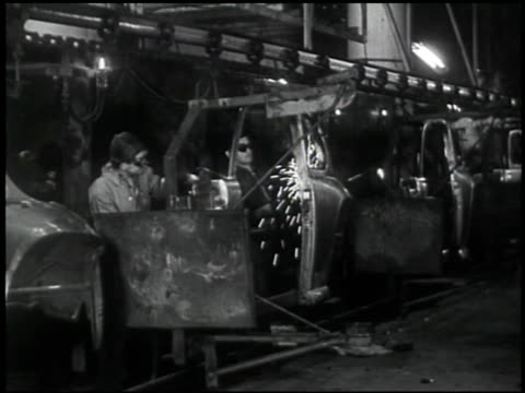 the welding operator - 9 of 10 - see other clips from this shoot 2484 stock videos & royalty-free footage