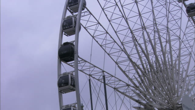 the wheel of belfast in close up, northern ireland - belfast stock videos & royalty-free footage