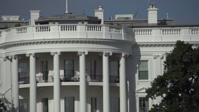 the white house in washington dc - white house washington dc stock videos and b-roll footage