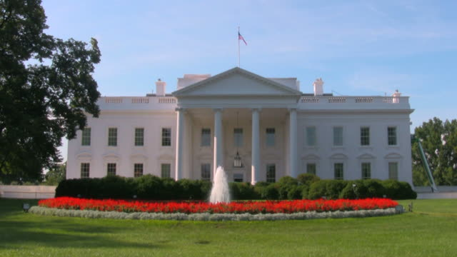 the white house - white house washington dc stock videos & royalty-free footage