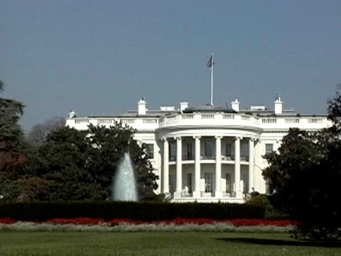 the white house - 2004 stock videos and b-roll footage
