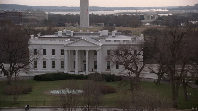 pan the white house / washington, d.c., united states - 2000s style stock videos & royalty-free footage