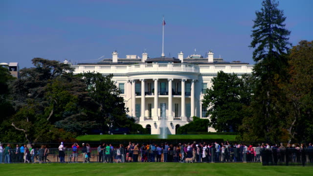 the white house, washington d.c, usa - white house washington dc stock videos & royalty-free footage