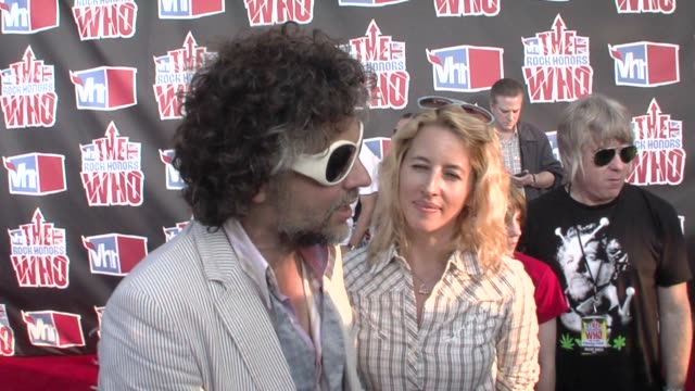 The Who The Flaming Lips at the VH1 Rock Honors at Los Angeles CA