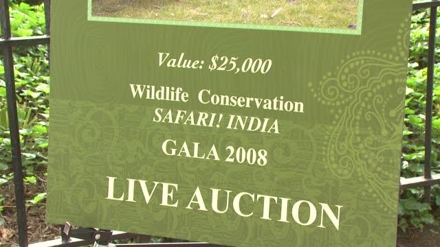 the wildlife conservation society safari! india gala at new york ny. - wildlife conservation stock videos & royalty-free footage