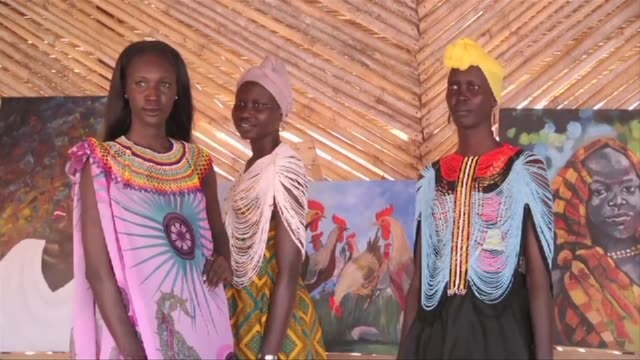 The William Nyuon Foundation and House of Bany organize a fashion and painting exhibition in Jubato give hope dignity and a brighter future for women...