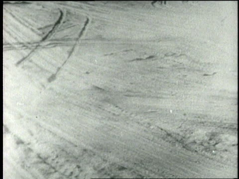 the wind blows dust across drought stricken land - dust bowl stock videos and b-roll footage