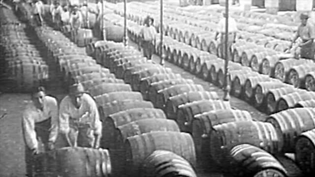 the winemaking process in the 1920's - 1929 stock videos & royalty-free footage