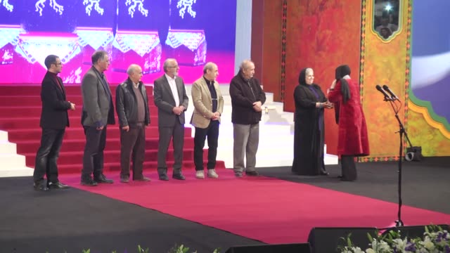 The winners of the 36th Fajr Film Festival in various categories are announced in the closing ceremony of the annual event at Milad Tower in Tehran...