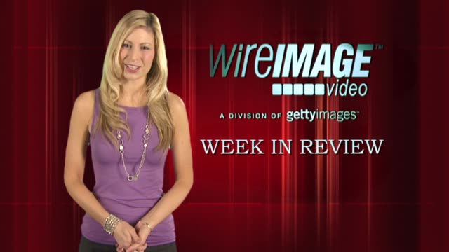 the wireimage entertainment report week in review 07/10/09 - ブルック シールズ点の映像素材/bロール