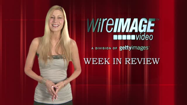 the wireimage entertainment report week in review 08/28/09 - アレクシス ブレデル点の映像素材/bロール