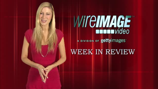 the wireimage entertainment report week in review 09/18/09 - patrick swayze stock videos & royalty-free footage