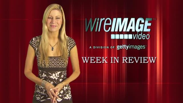 the wireimage entertainment report week in review 09/25/09 - skådespelerska bildbanksvideor och videomaterial från bakom kulisserna
