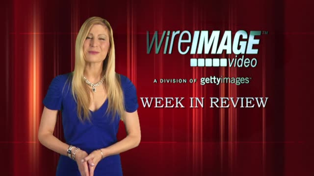 the wireimage entertainment report week in review - morgan freeman stock videos & royalty-free footage