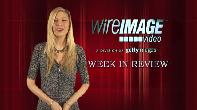 the wireimage entertainment report week in review 1/15/2010 - イギリスのブロードキャスター ジョナサン・ロス点の映像素材/bロール