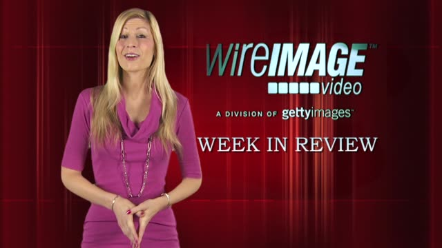 the wireimage entertainment report week in review - penélope cruz stock videos and b-roll footage