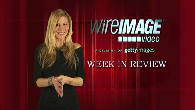 the wireimage entertainment report week in review 2/26/2010 - aidan quinn stock videos & royalty-free footage