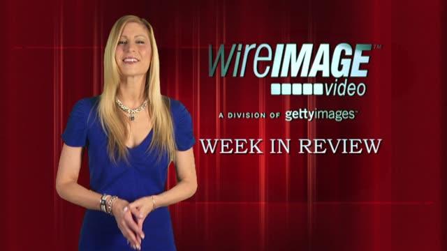 stockvideo's en b-roll-footage met the wireimage entertainment report week in review 4/15/2010 - barbra streisand