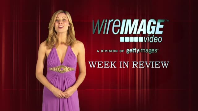 the wireimage entertainment report week in review 4/22/2010 - ブルック シールズ点の映像素材/bロール