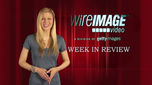 the wireimage entertainment report week in review 4/29/2010 - david 'the edge' howell evans stock videos and b-roll footage