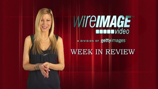 vídeos y material grabado en eventos de stock de the wireimage entertainment report week in review 5/06/2010 - gabriel aubry