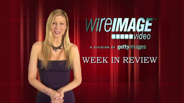 the wireimage entertainment report week in review 7/08/2010 - alfred molina stock videos & royalty-free footage