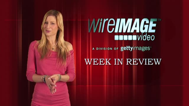 the wireimage entertainment report week in review 9/09/2010 - michelle williams actress stock videos and b-roll footage