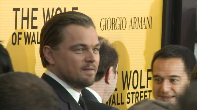 The Wolf of Wall Street Premiere on December 17 2013 in New York New York