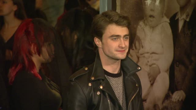 'the woman in black' los angeles premiere los angeles ca united states 2/2/12 - tom felton stock videos & royalty-free footage