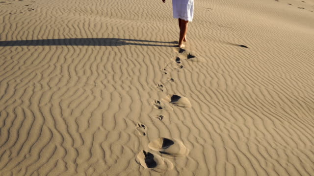 the women walking on the sand - mugla province stock videos & royalty-free footage