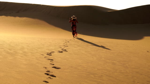 the women walking on the sand - 50 54 years stock videos & royalty-free footage