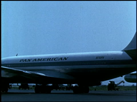 the wonderful jet world of pan american - 15 of 23 - see other clips from this shoot 2488 stock videos and b-roll footage