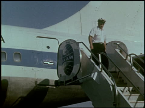 the wonderful jet world of pan american - 19 of 23 - see other clips from this shoot 2488 stock videos and b-roll footage