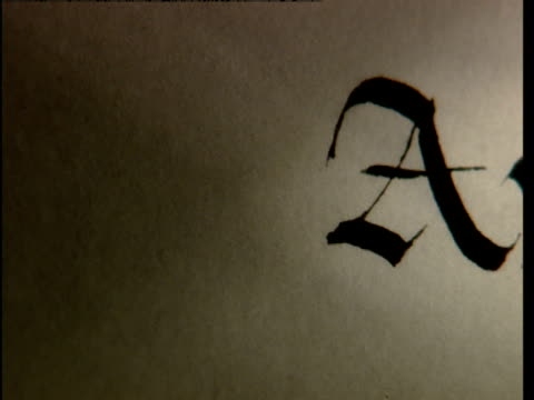 the word avalon is written with a fountain pen. - pen stock videos & royalty-free footage