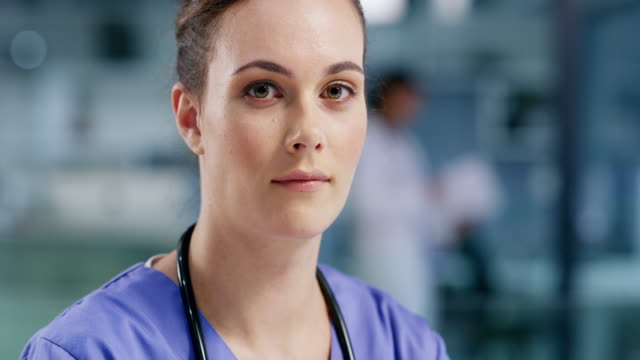 the work nurses have to do never ends - female nurse stock videos & royalty-free footage