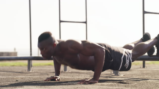the workout sequence - self discipline stock videos and b-roll footage